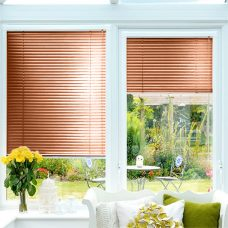 Perfect fit Venetian blinds in slat 7454 25 mm metallic finish