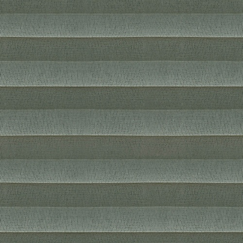 Voile Sage Pleated Blind fabric