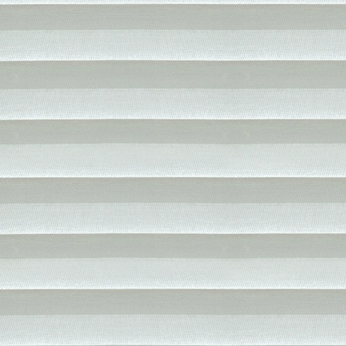 Voile White Pleated Blind fabric