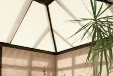 Altitude Clover Mist Pleated Roof Blinds