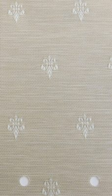 Antoinette Bone Vertical blinds slat