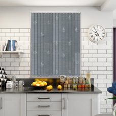 Antoinette pier vertical blind in a kitchen