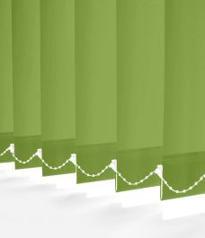 Carnival Kiwi Vertical blinds close up