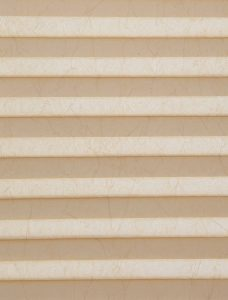 Crush Biscuit Pleated Blind Fabric