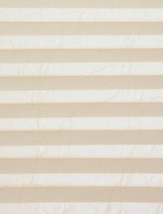 Crush Natural Pleated Blind Fabric