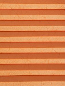Crush Terracotta Pleated Blind Fabric
