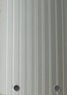 Dimensions grey vertical slat