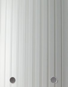 Dimensions White Vertical Blinds slat