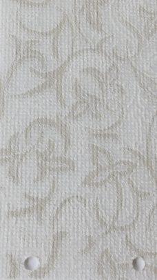 Josephine White Vertical blinds fabric