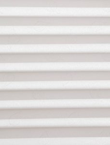 Lauren Crystal White Pleated Blind Fabric