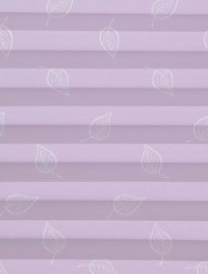Lauren Pale Lilac Pleated Blind Fabric