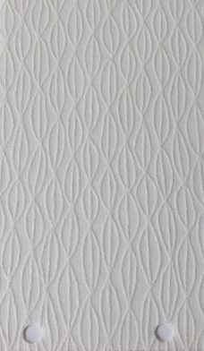Lupin Chalk Vertical Blinds fabric