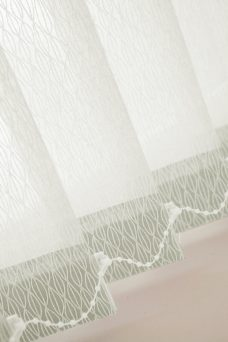 Lupin Chalk Vertical Blinds close up