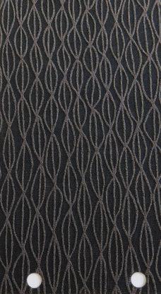 Lupin Coal blind fabric