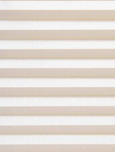 Manhatten Beige Pleated Blind Fabric
