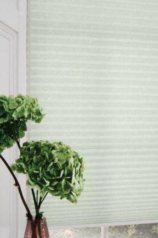 Manhatten Light Green Pleated Blind