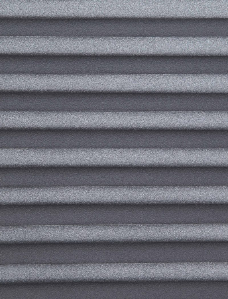 Marcello Charcoal Pleated Blind Fabric