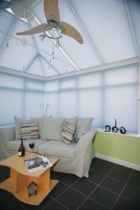 Pleated Pre tensioned Blinds