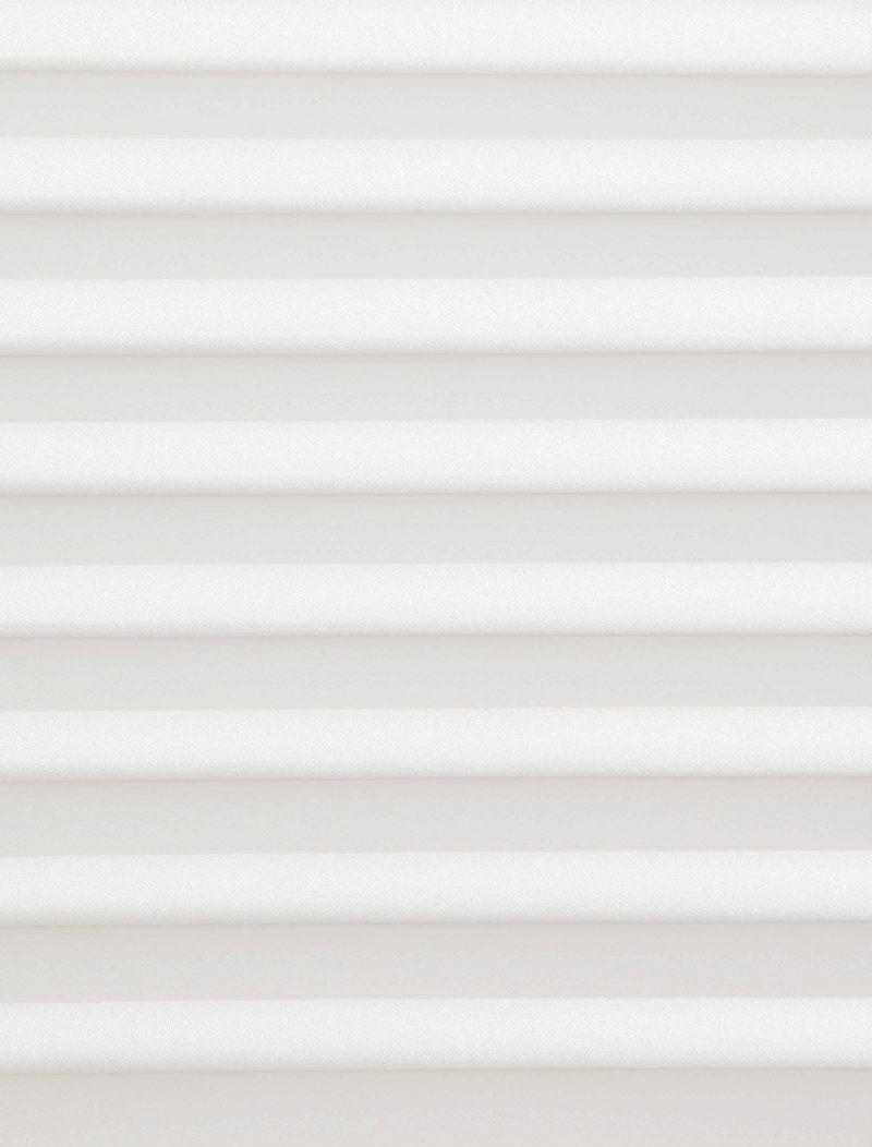 Marcello Ghost White Pleated Blind Fabric