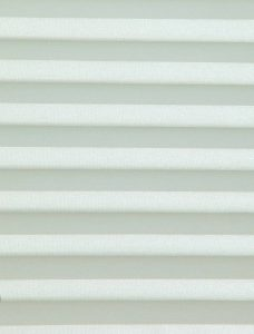 Oklahoma Apple White Pleated Blind Fabric