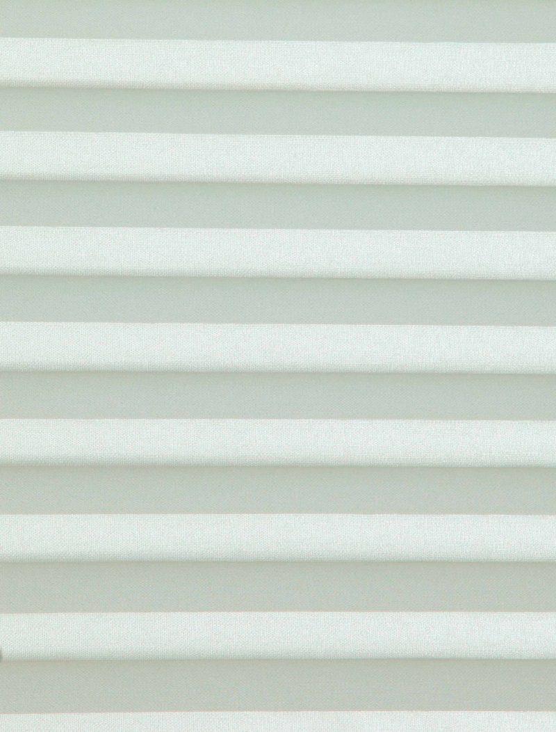 Oklahoma Apple White Pleated Blind Fabric