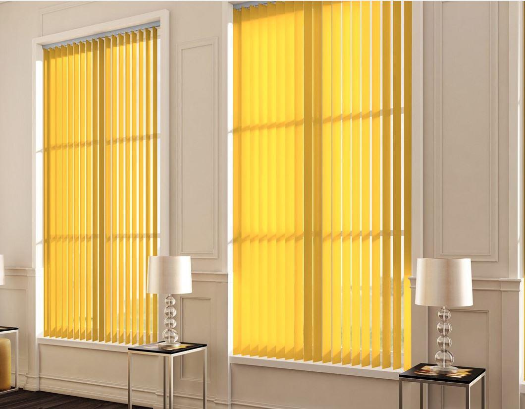 Palette Mango Vertical blinds
