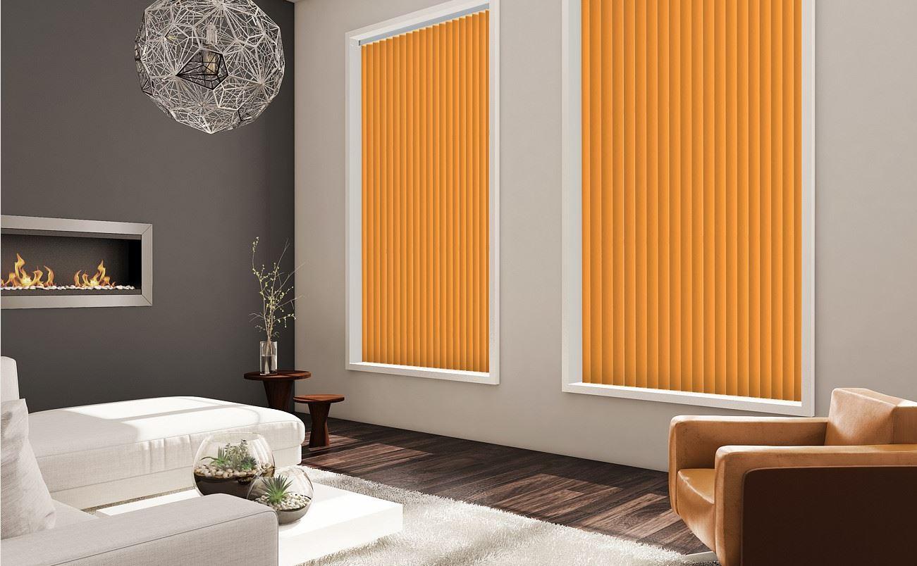 Palette Saffron Vertical Blinds