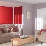 Rianna English Fire-vertical blinds in a lounge