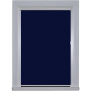 0224 Navy BlocOut BLind in Closed Position