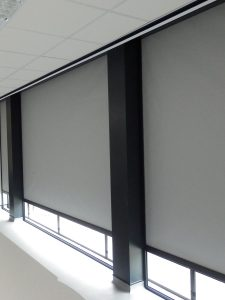Shy Blinds with side channels / tracks/ guides/ frames