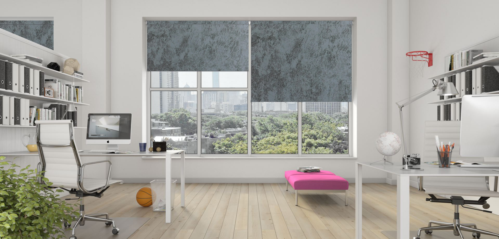 Caspian Grey Senses Blinds