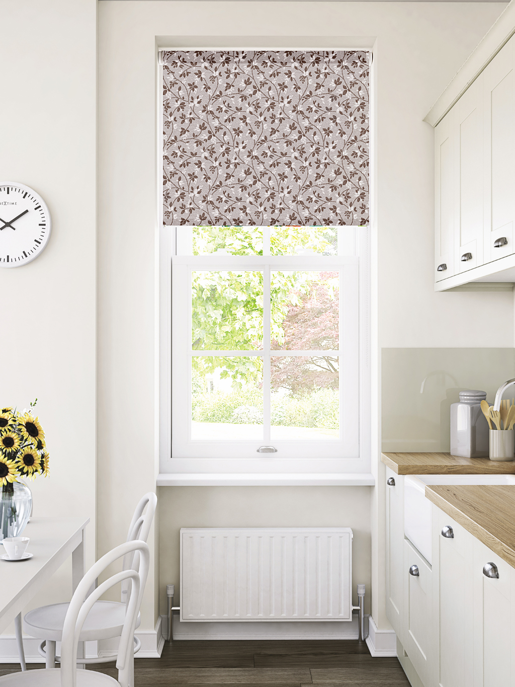 Alondra Cocoa Roller Blind