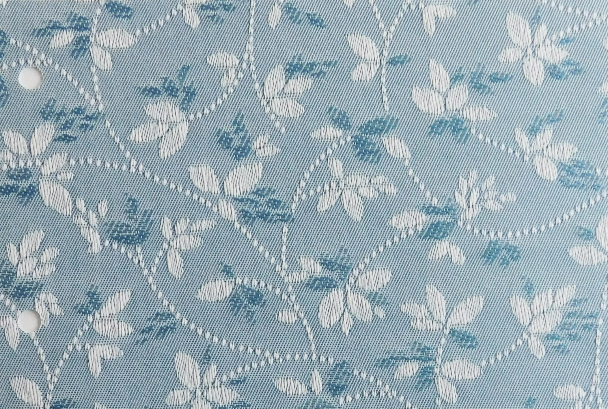 Alondra Petrol Blue Blind Sample Fabric