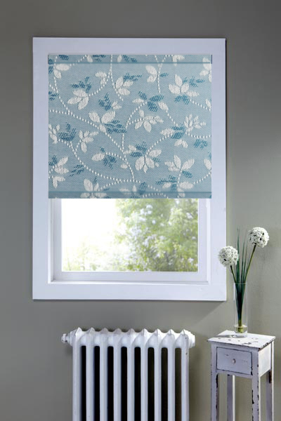 Alondra Petrol Blue Roller Blind