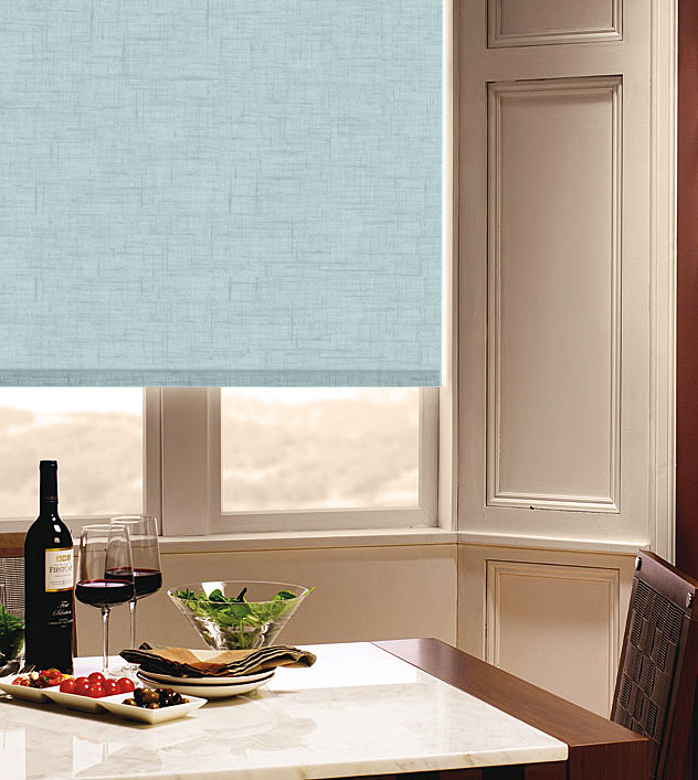 Spectrum Waterfall Roller Blind