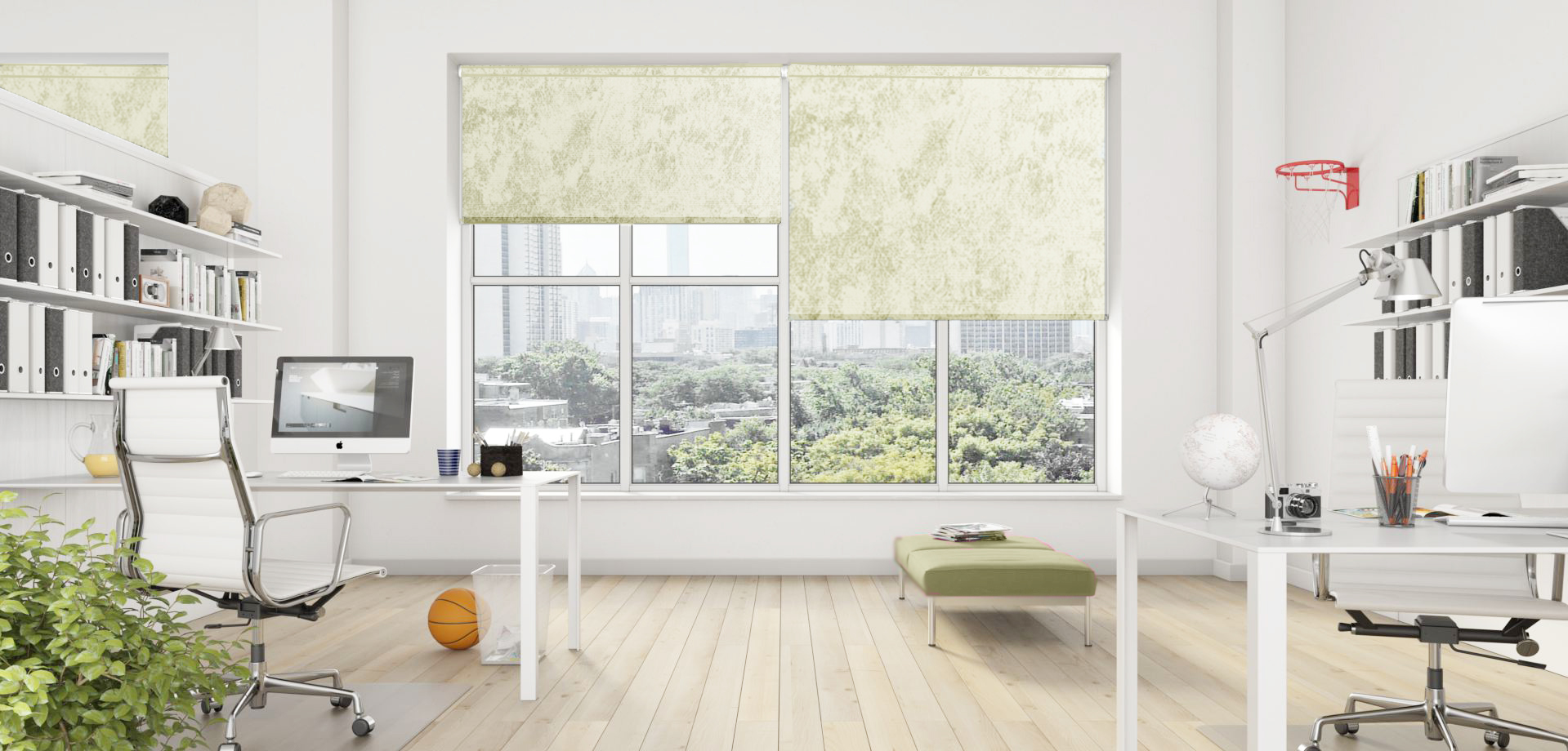 Caspian Cream Senses Blinds