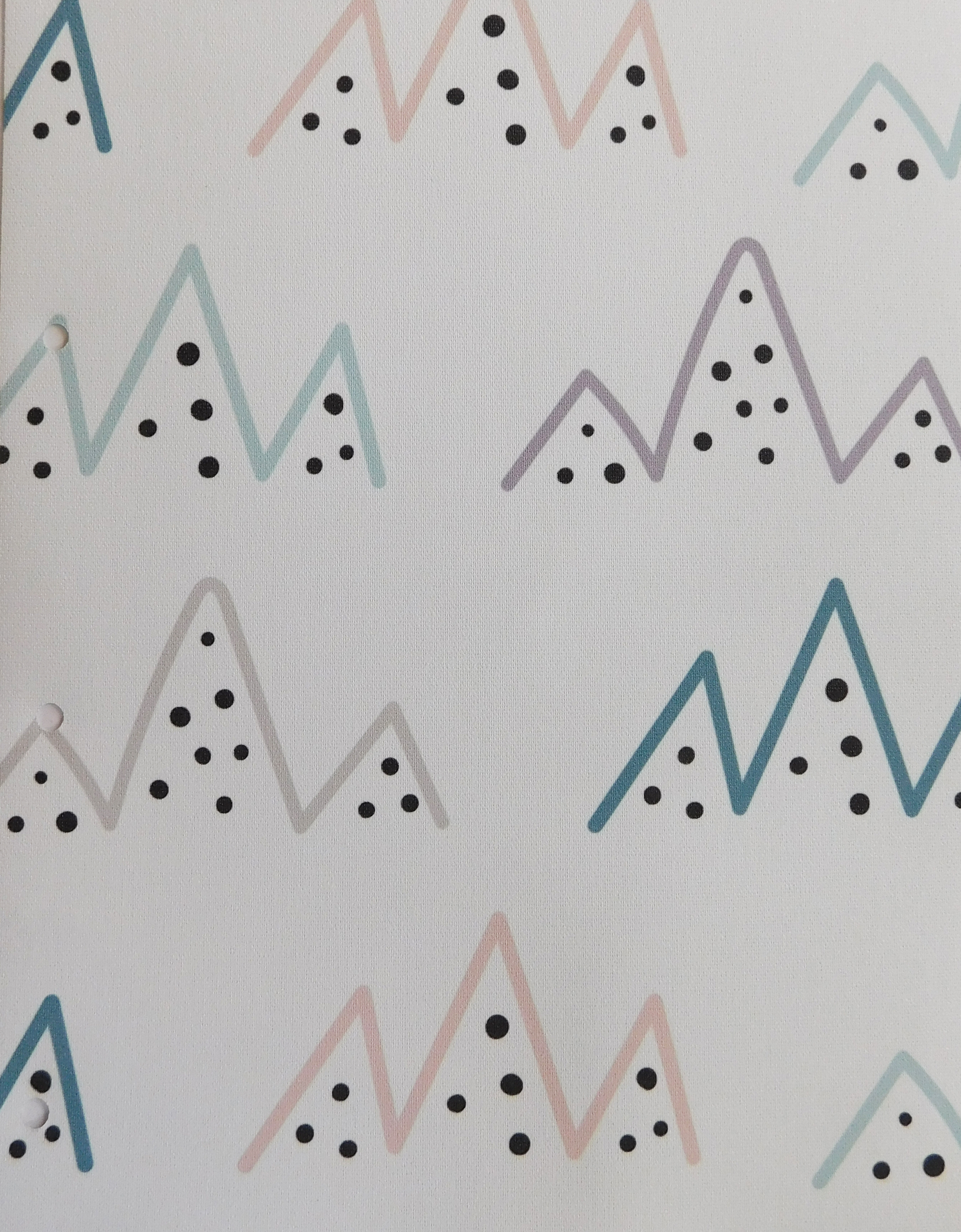 Alpine Sketch blind fabric