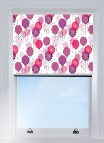 Pink balloons Blocout blind