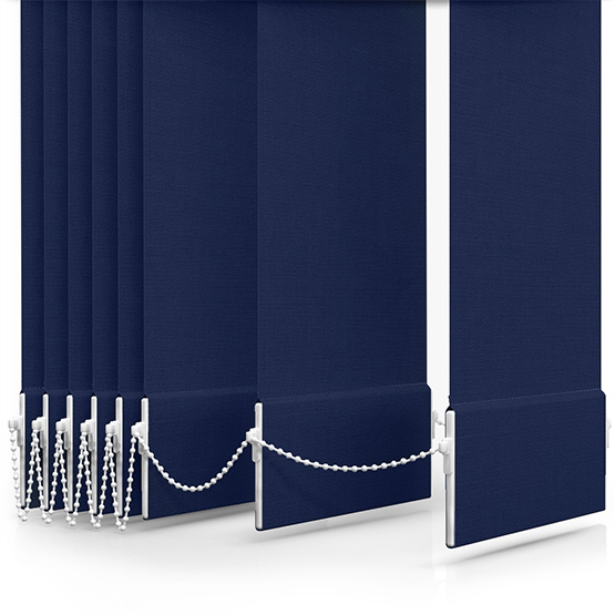 Carnival Breton Blue Vertical Blind