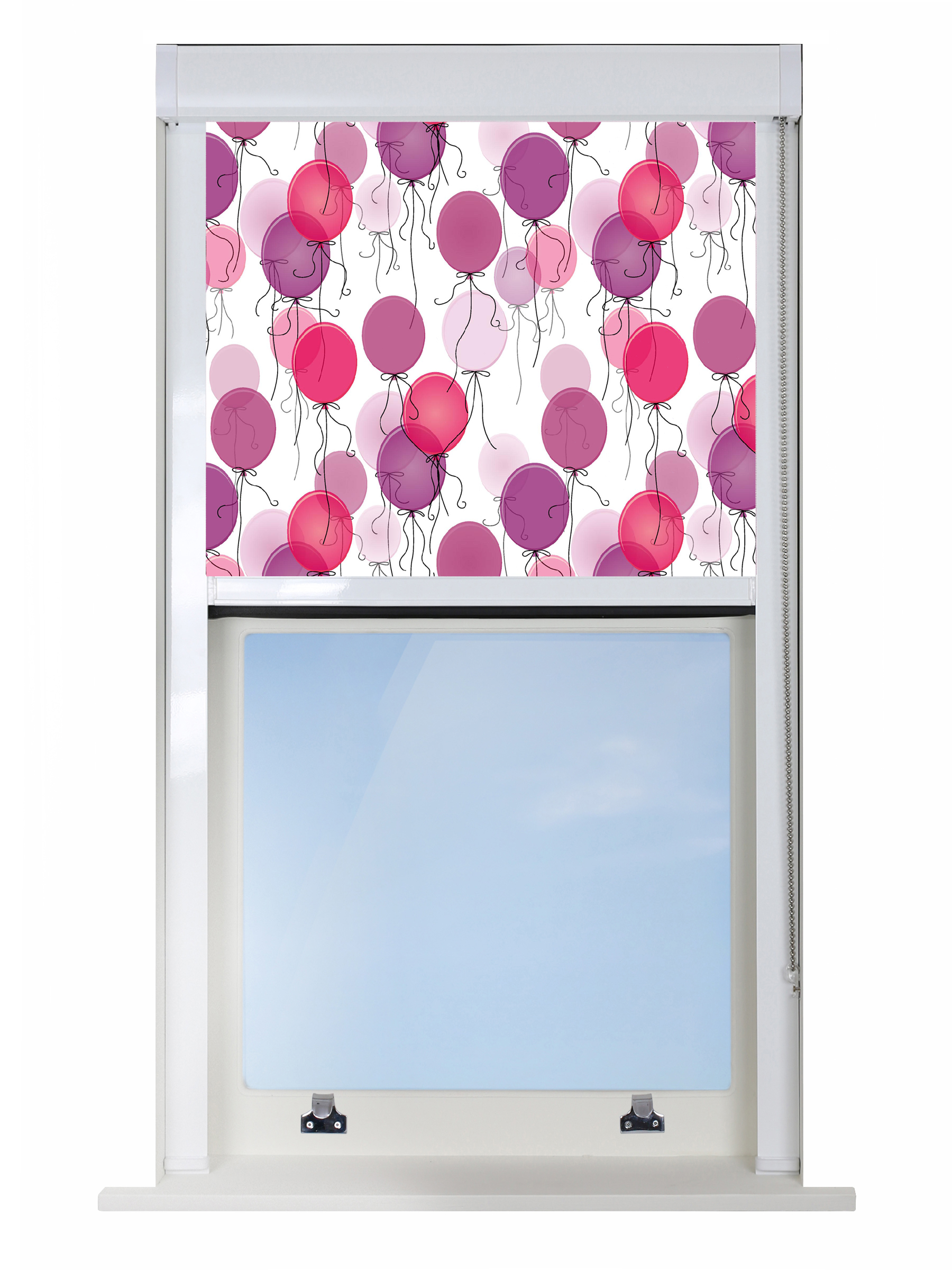 Pink Balloons Blocout XL Blind