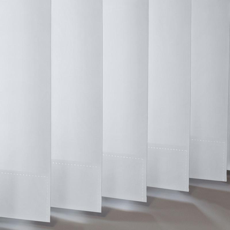 Vitra White Vertical blind