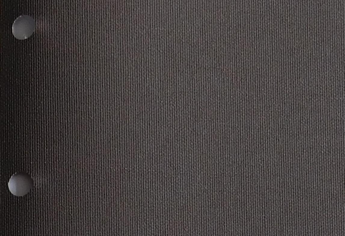 Polaris chocolate blinds fabric