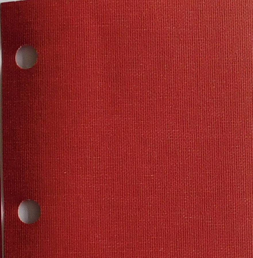 Polaris Garnet blind fabric