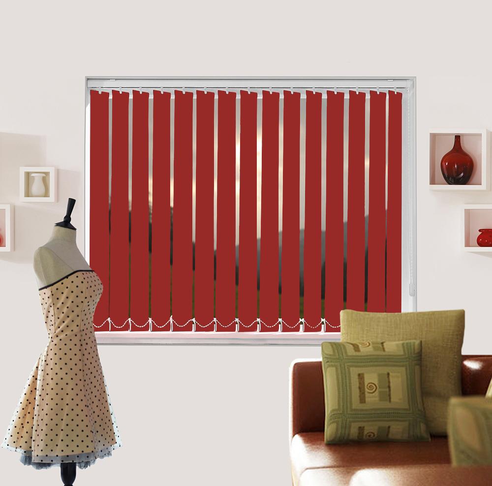 Polaris Garnet vertical blinds