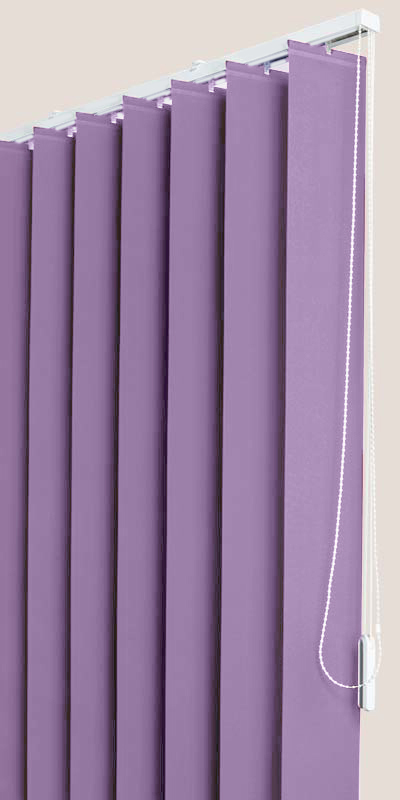 Polaris Lilac Vertical Blind