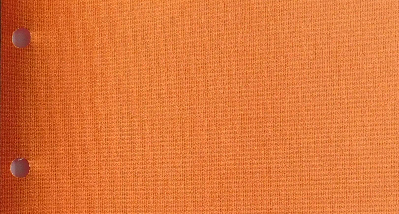 Polaris Tangerine blind fabric