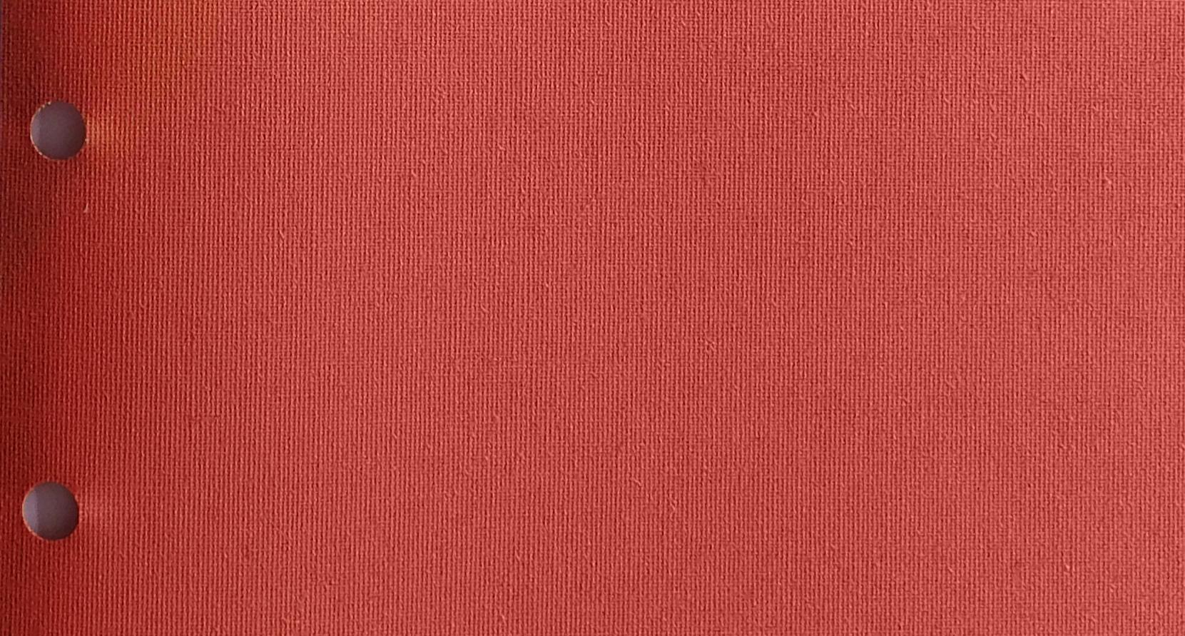 Polaris Terracotta blind fabric