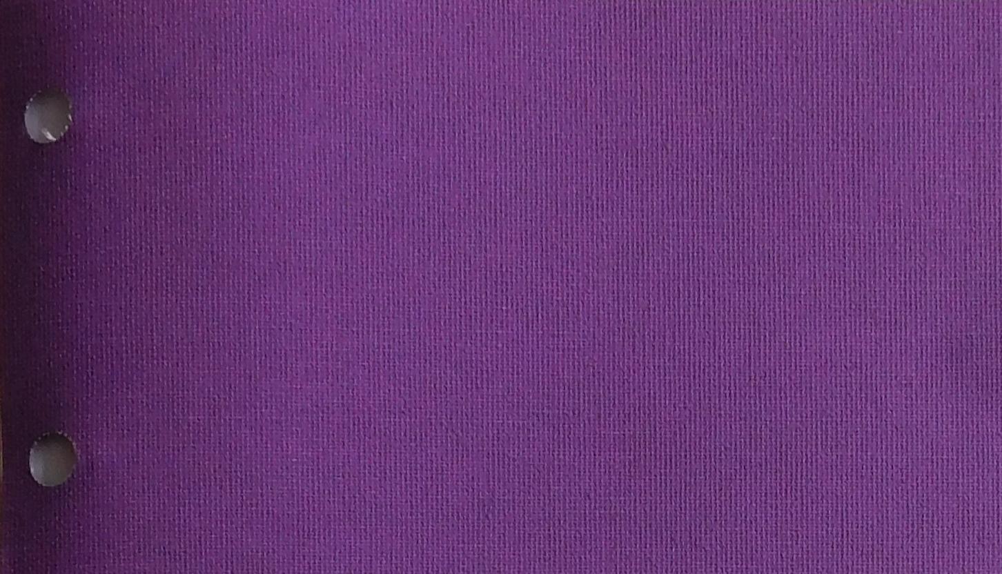 Polaris Violet blind fabric