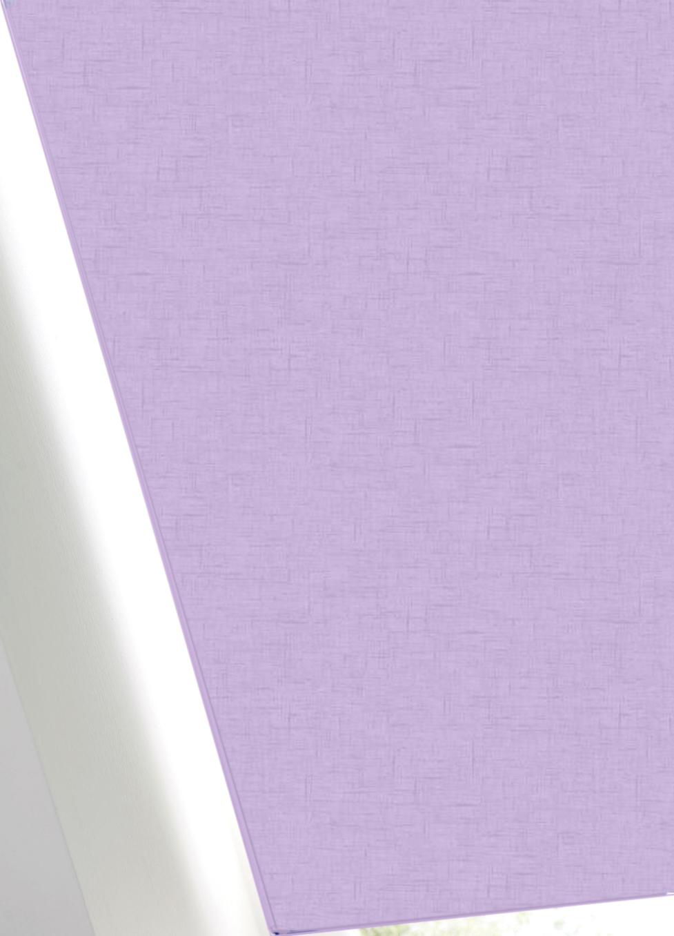 Spectrum Spring Lilac FR BO Roller Blind