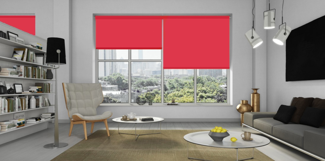 Carnival Chelsea Red FR Senses Blinds